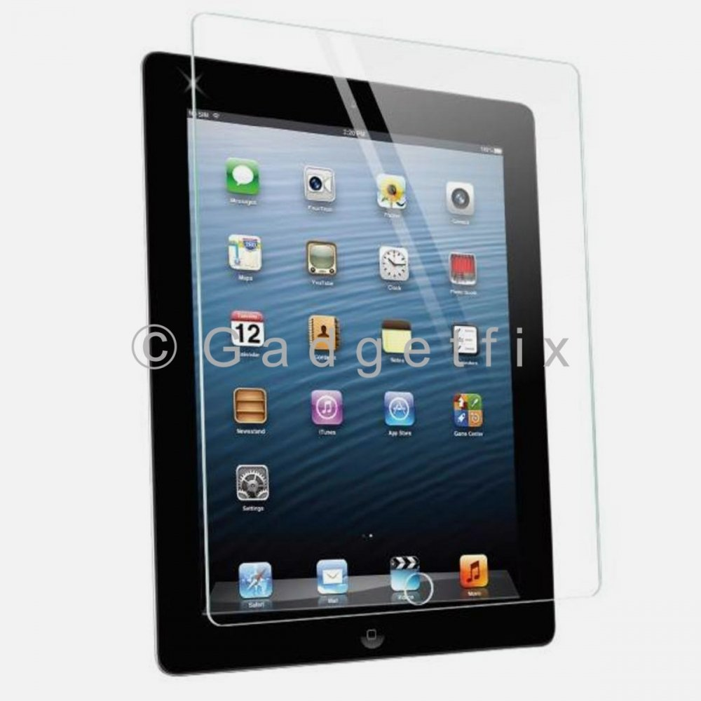 Ipad 2 3 4 9H 0.33mm Premium Tempered Glass LCD Screen Protector Guard