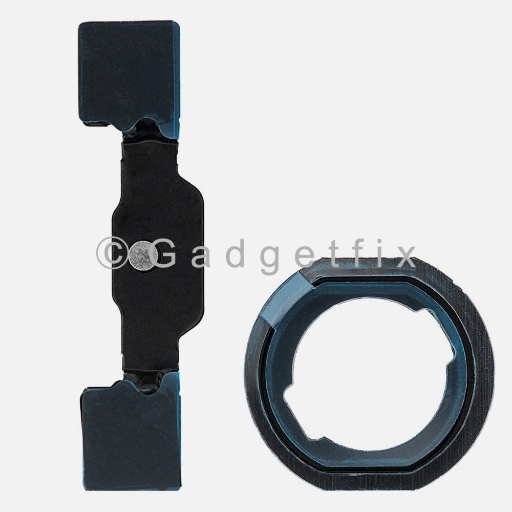 Home Button Mounting Holding Bracket + Rubber Gasket for Ipad 5 2017 | 6 2018 | 7 2019 | 8 2020