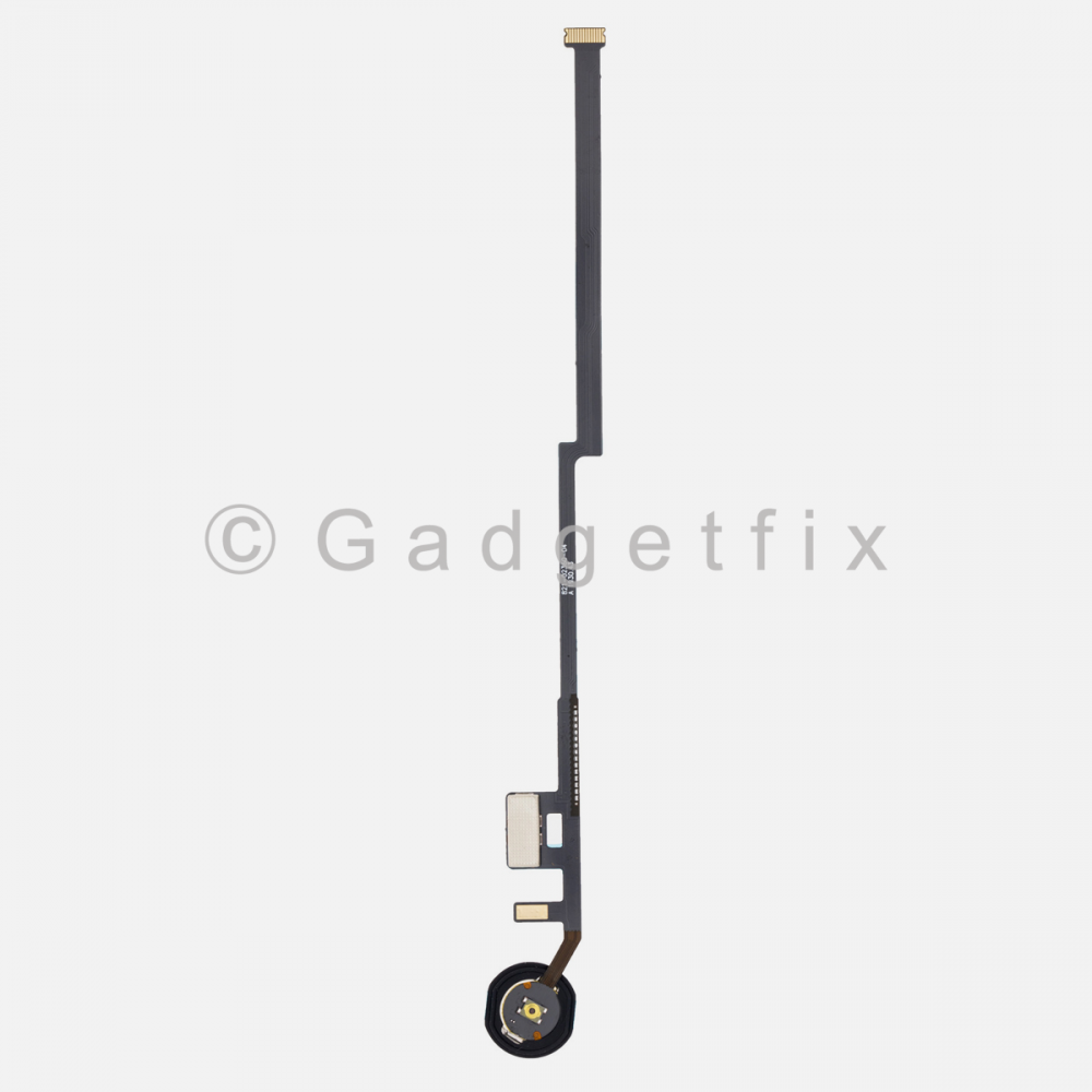 Silver Home Menu Button Flex Cable for iPad 7 10.2 7th Gen A2200 A2198 A2232