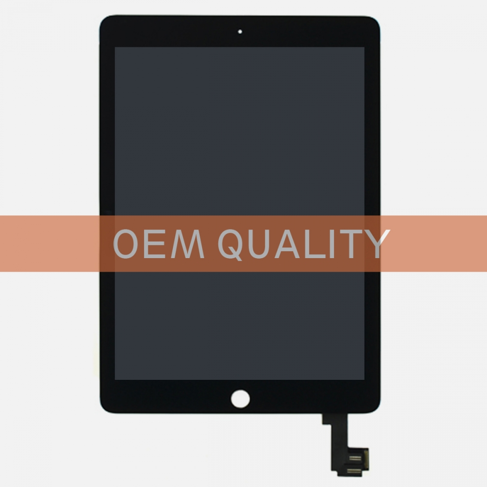 (Top Quality) Touch Screen Digitizer LCD Display + Wake Sleep Sensor for iPad Air 2 A1566 A1567