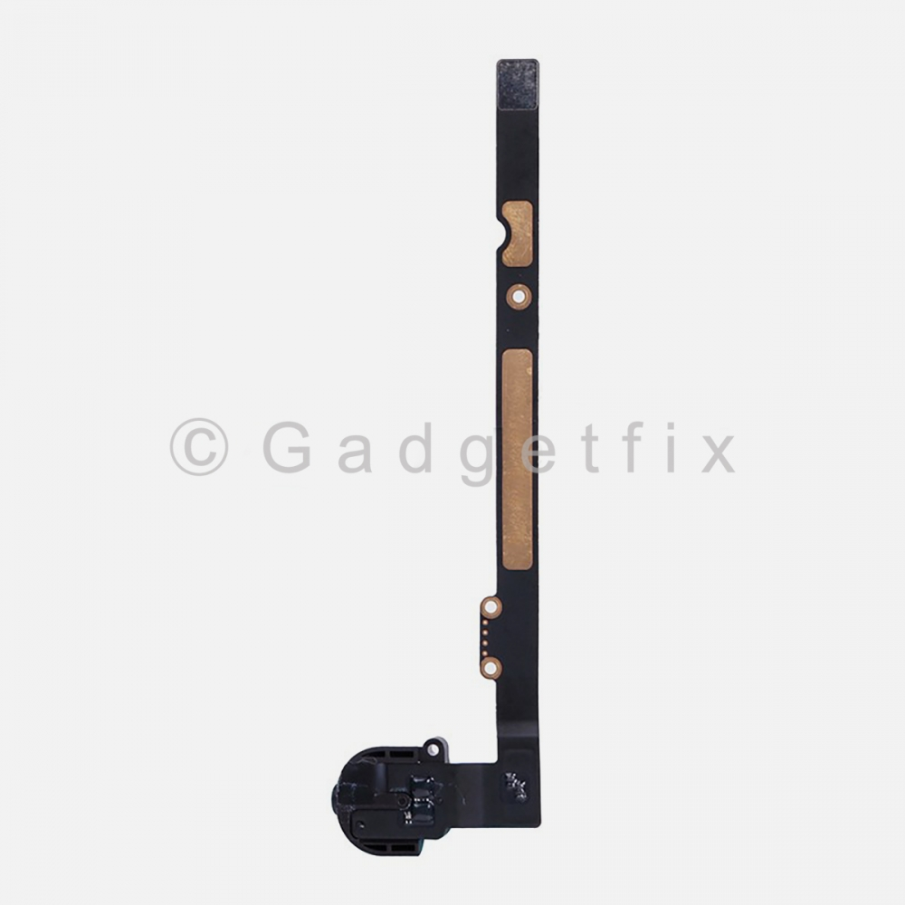 Black Headphone Audio Jack Flex Cable For Ipad Air | Ipad 5 | Ipad 6 (Wifi | 3G)