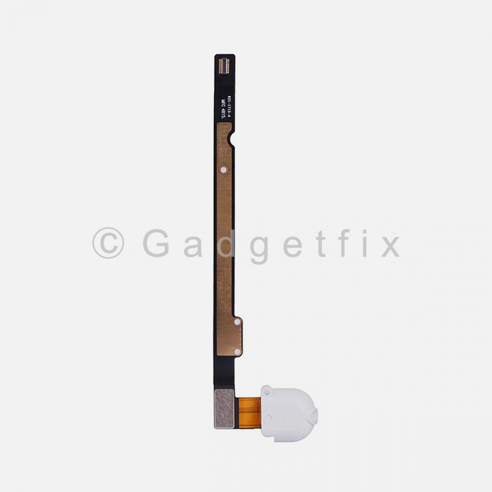 White Headphone Audio Jack Flex Cable For Ipad Air | Ipad 5 | Ipad 6 (Wifi | 3G)