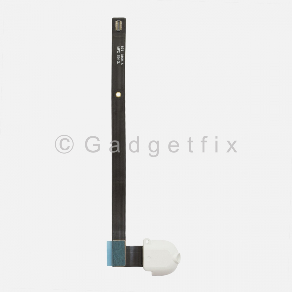 White Headphone Audio Jack Flex Cable For Ipad Air | Ipad 5 | Ipad 6 (Wifi)