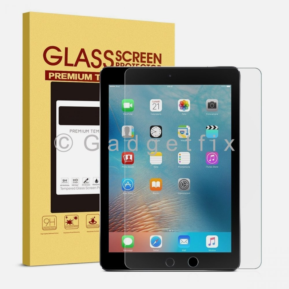 Ipad Air | Air 2 | Ipad 5 | Ipad 6 9H 0.33mm Premium Tempered Glass LCD Screen Protector Guard