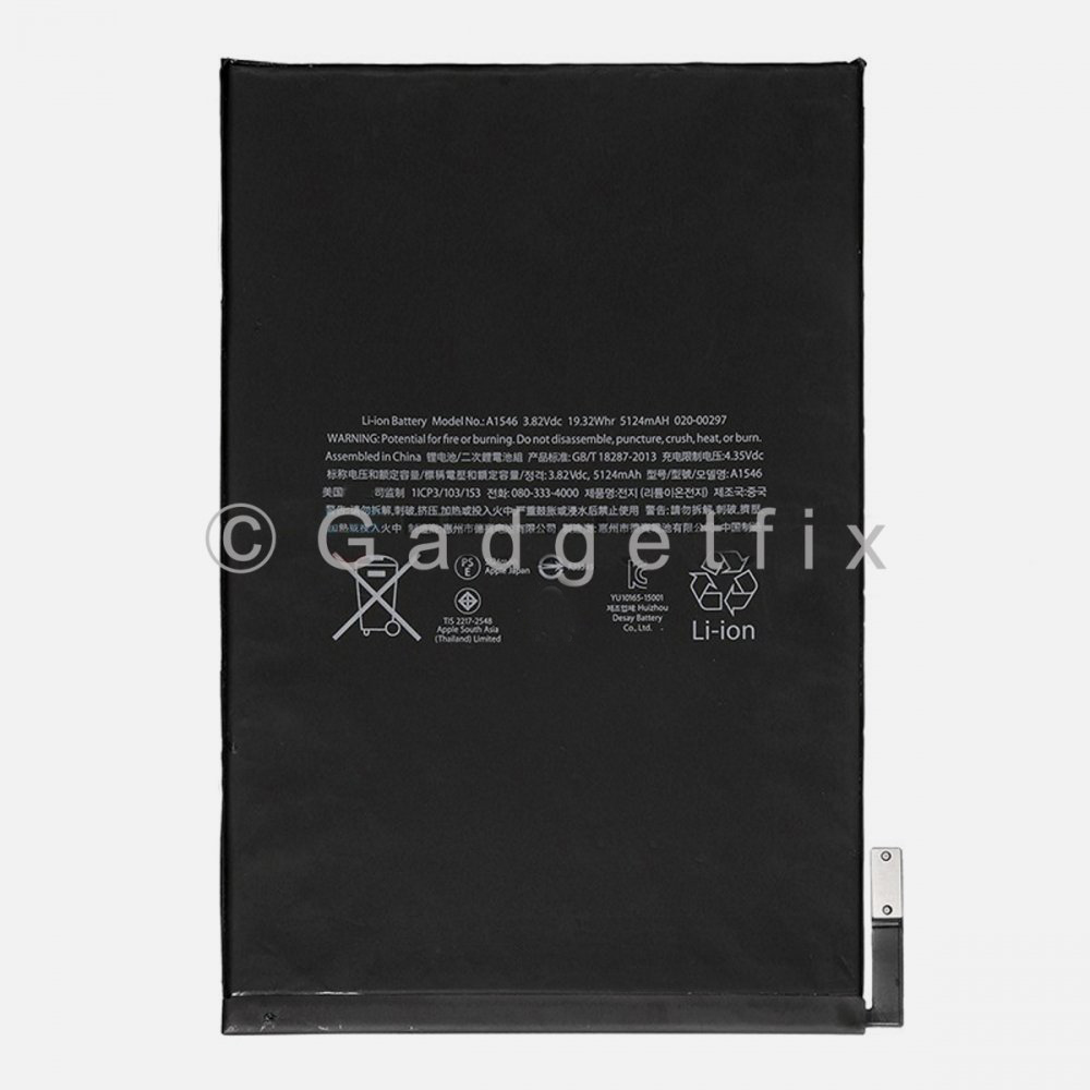 IPad Mini 4 Battery Replacement Part A1538 A1550