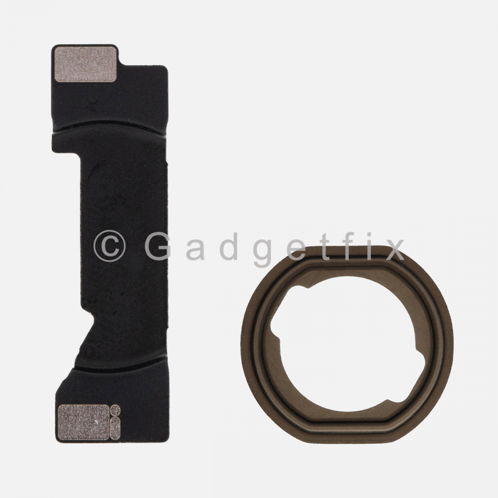 Home Button Mounting Holding Bracket + Rubber Gasket for Ipad Mini 4 | Mini 5