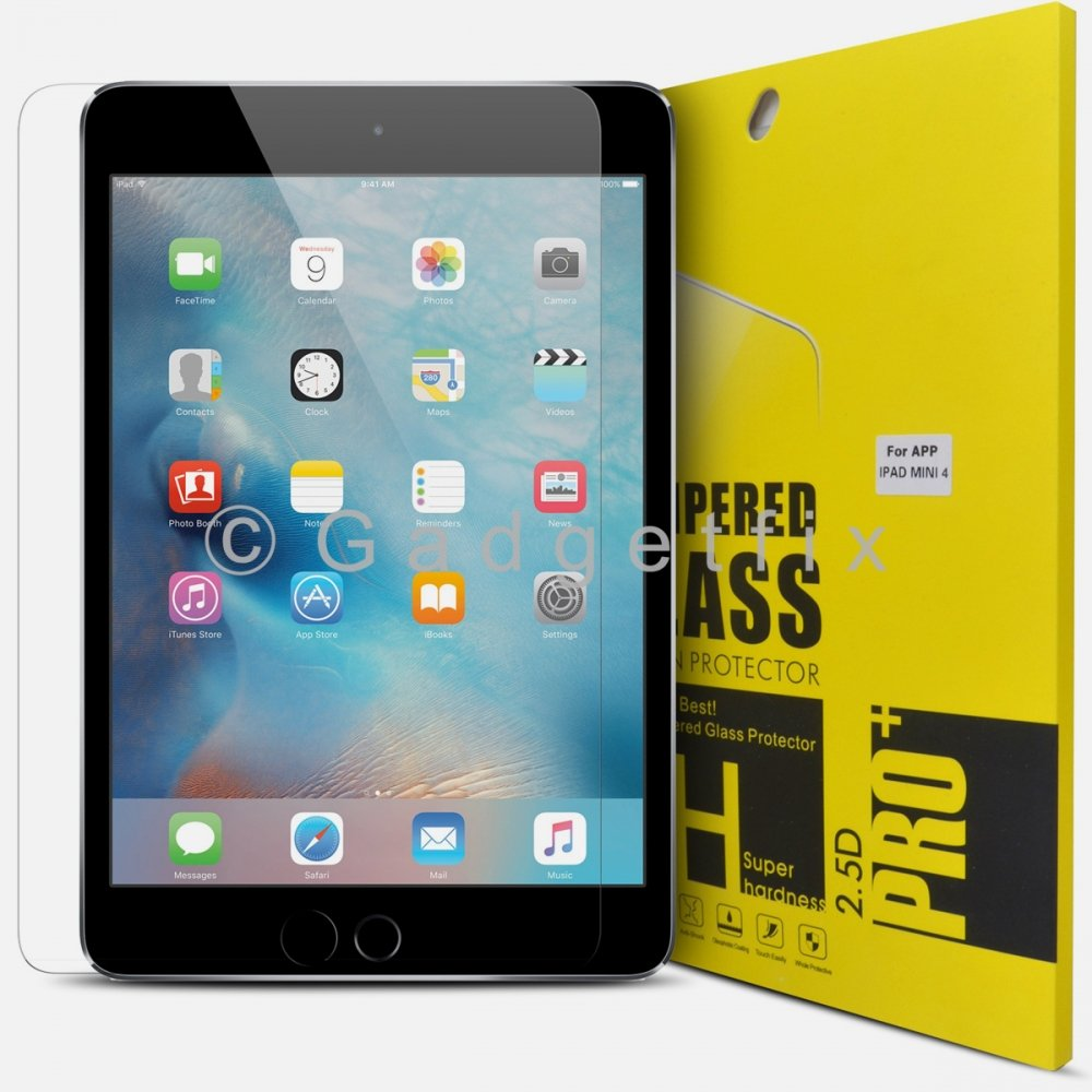 Ipad Mini 4 9H 0.33mm Premium Tempered Glass LCD Screen Protector Guard