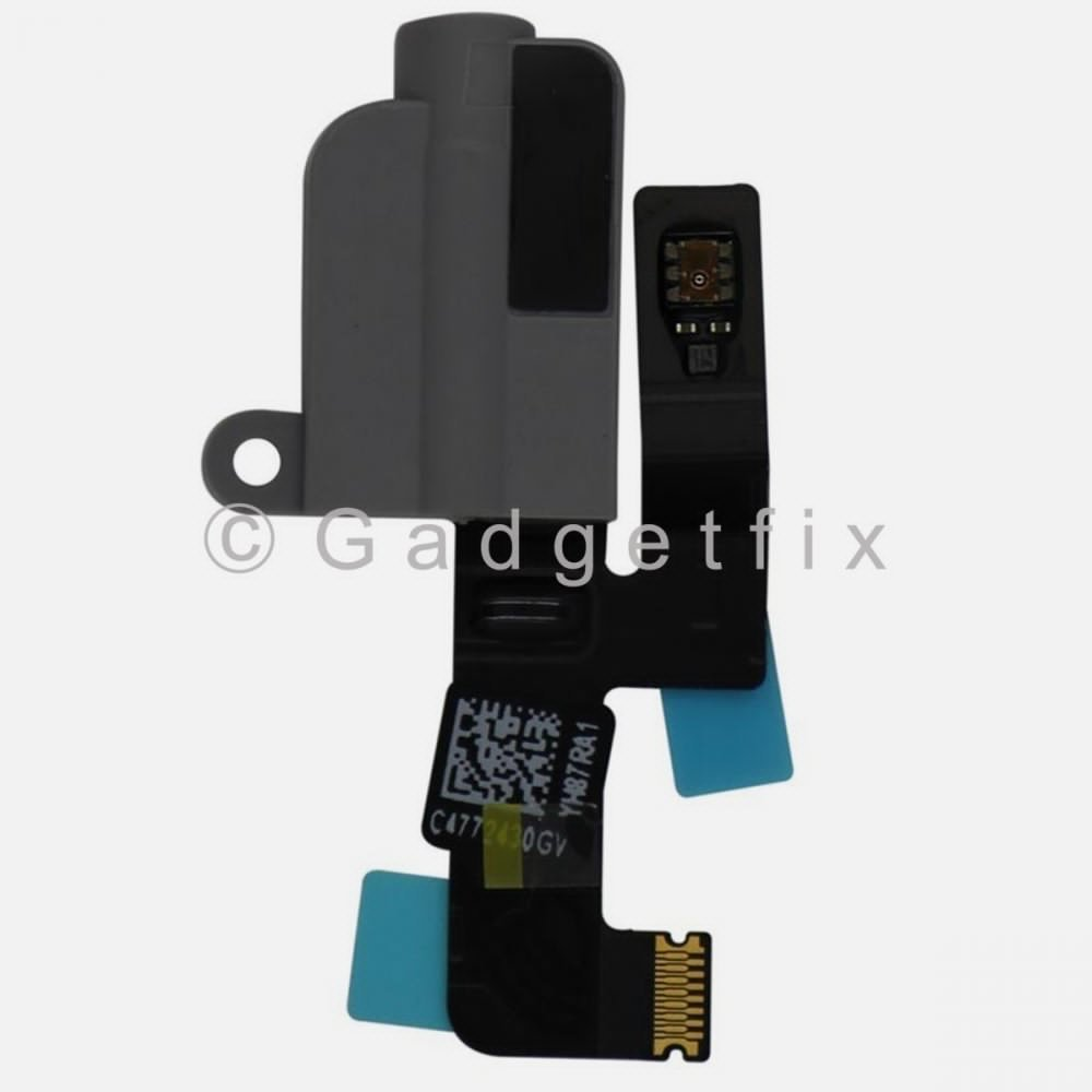Black Audio Jack Headphone Flex Cable Replacement Parts For Ipad Pro 10.5
