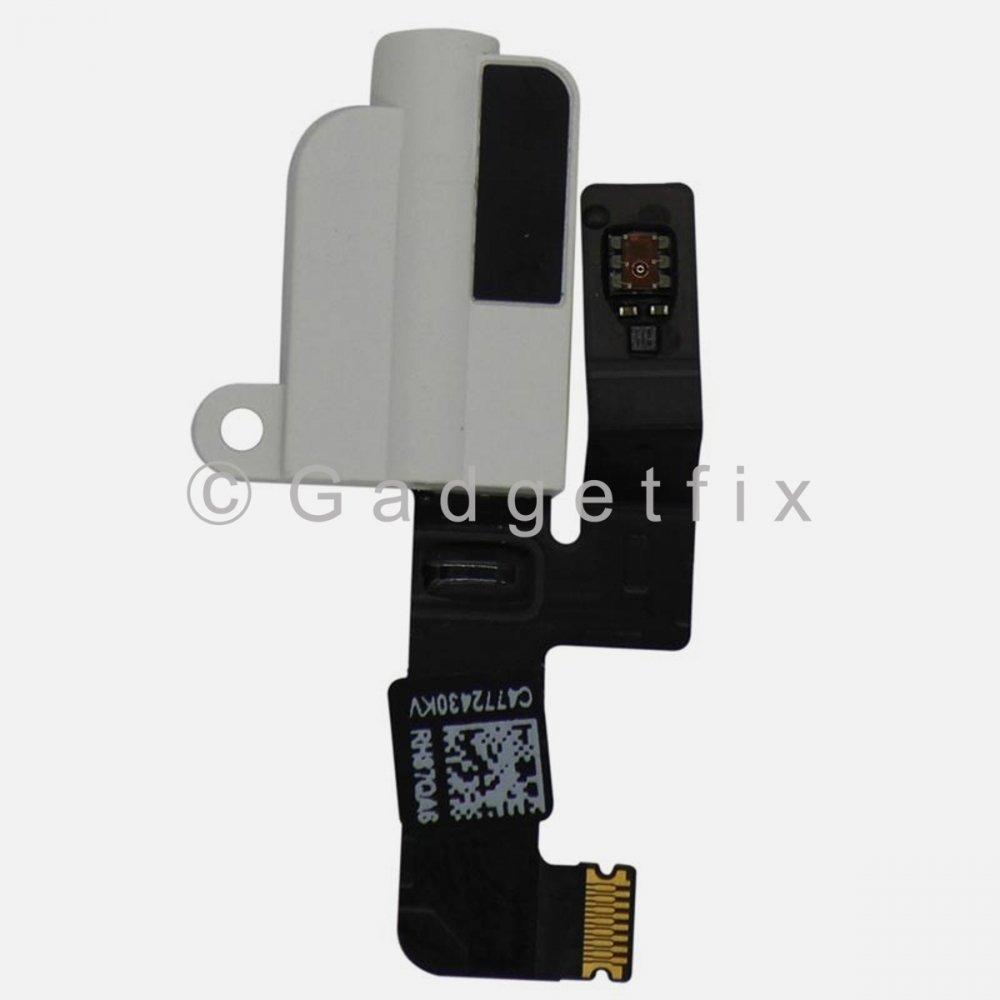 White Audio Jack Headphone Flex Cable Replacement Parts For Ipad Pro 10.5