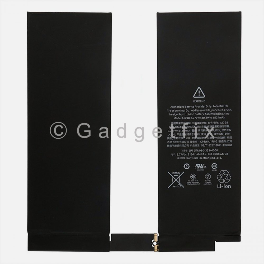 Ipad Pro 10.5 8134mAh Battery Replacement Part A1701 A1709