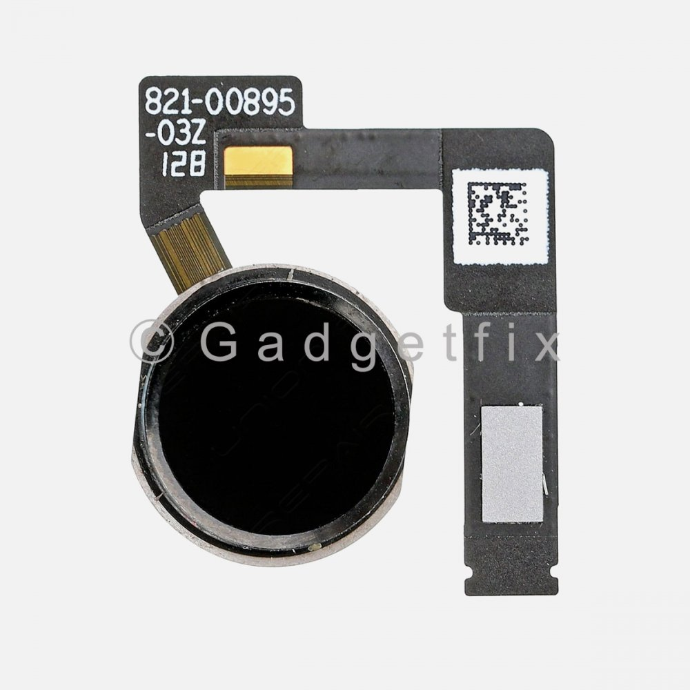 Black Home Menu Button Flex Cable for iPad Pro 12.9 2nd Gen A1670 A1671