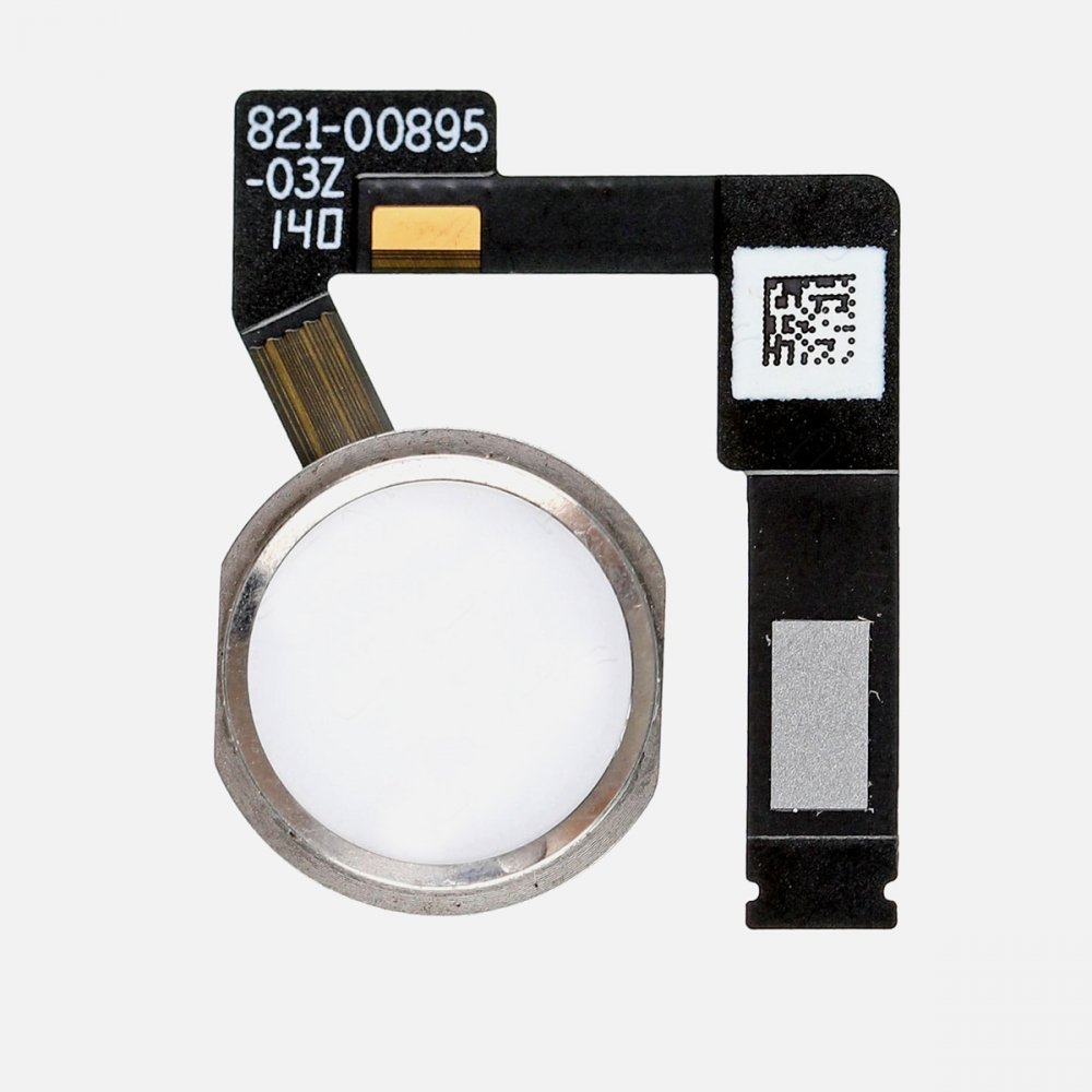 Silver Home Menu Button Flex Cable Replacement Part for iPad Pro 10.5