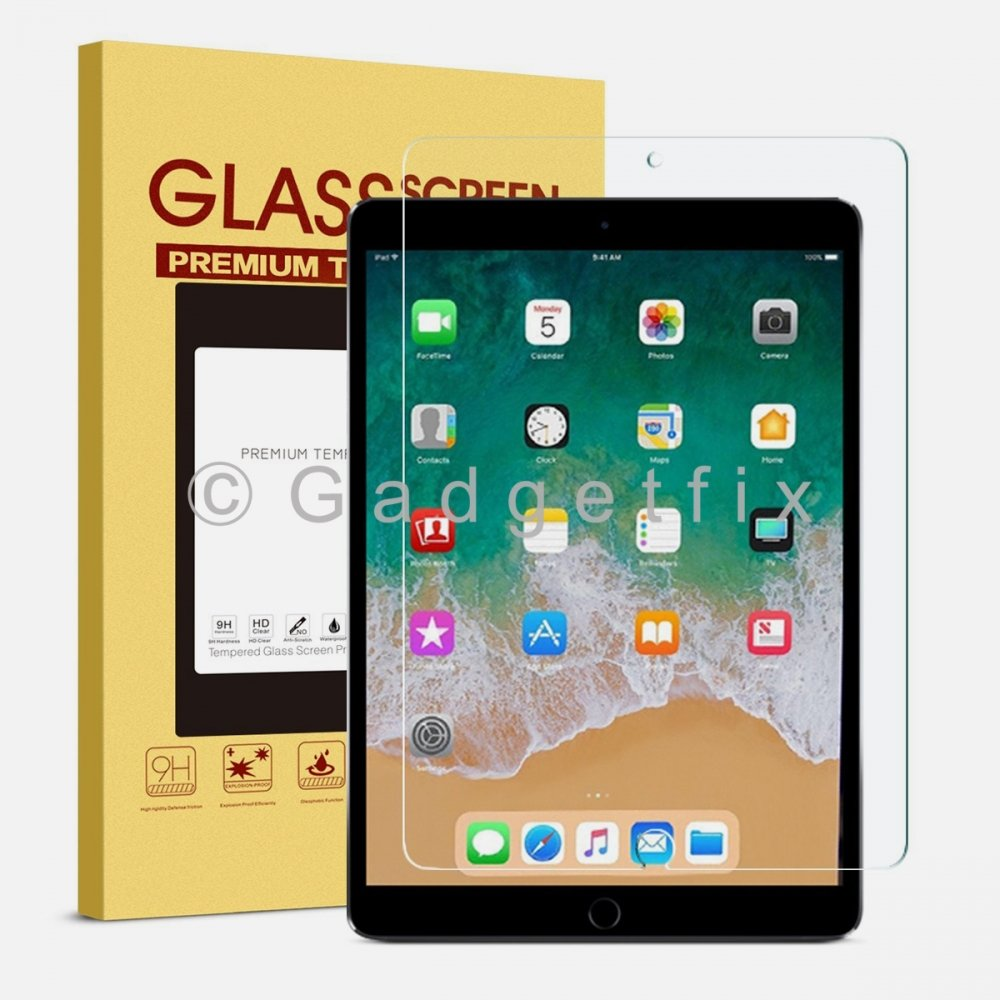 Ipad Pro 10.5 9H 0.33mm Premium Tempered Glass LCD Screen Protector Guard