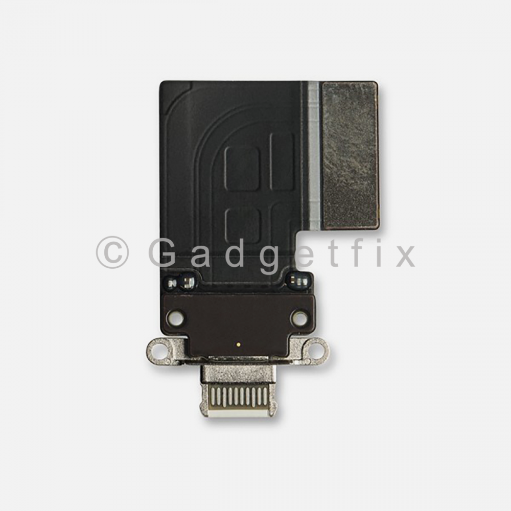 White Lightning Charging Port Flex Cable For Ipad Pro 11 | Ipad Pro 12.9 3rd Gen