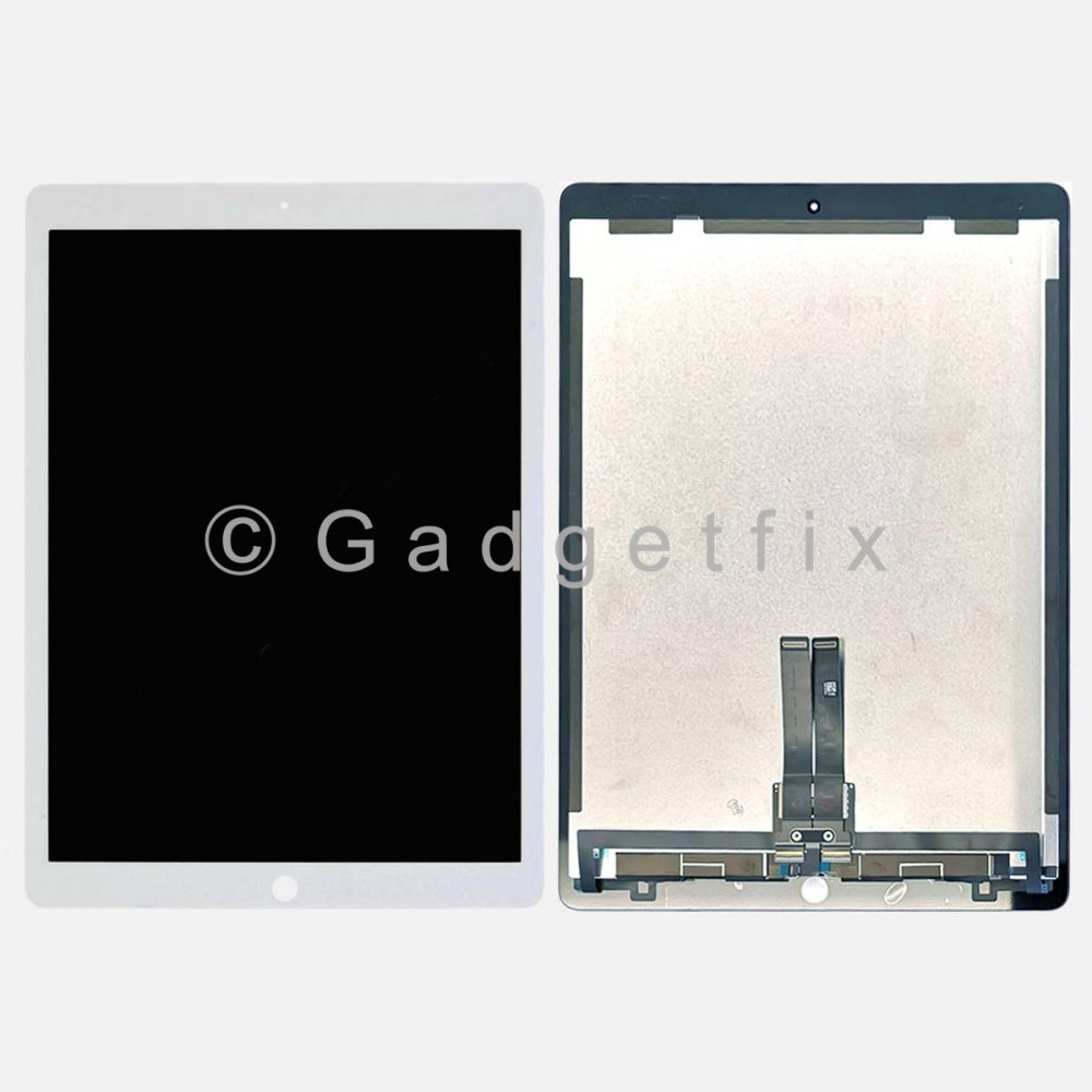 White Touch Screen Digitizer LCD Display for Ipad Pro 12.9 (2nd Gen) w/ PCB Board