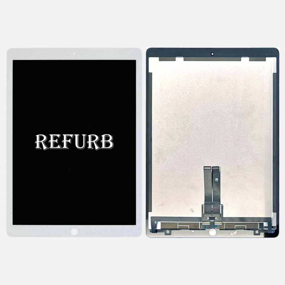 Refurbished White Touch Screen Digitizer LCD Display for Ipad Pro 12.9 (2nd Gen) w/ PCB Board