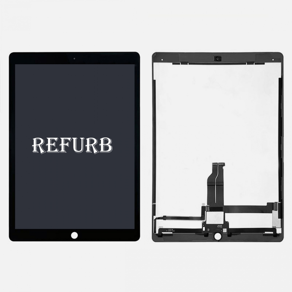Refurbished Black LCD Display Touch Screen Digitizer For iPad Pro 12.9 w/ PCB Board