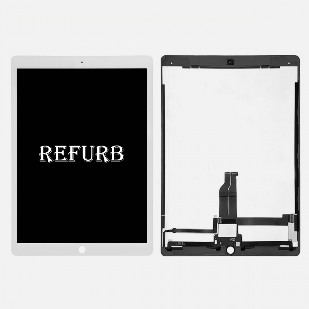 Refurbished White LCD Display Touch Screen Digitizer For iPad Pro 12.9 w/ PCB Board