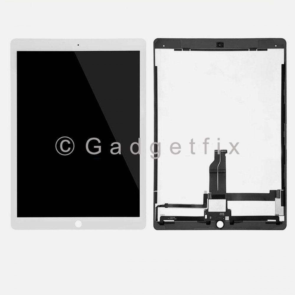 White LCD Display Touch Screen Digitizer For iPad Pro 12.9 w/ PCB Board
