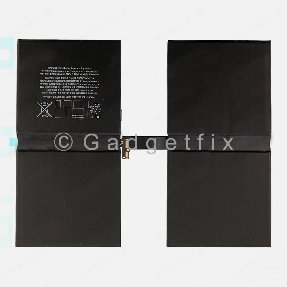 Replacement 10,994mAH Battery For Ipad Pro 12.9 (2nd Gen) A1670 A1671