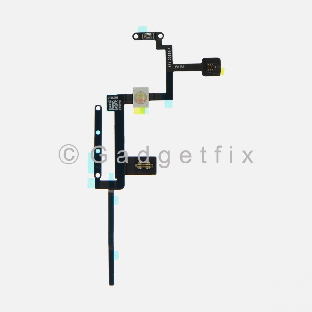 Power Volume Button Switch Connector Flex Cable For Ipad Pro 12.9 (2nd Gen)