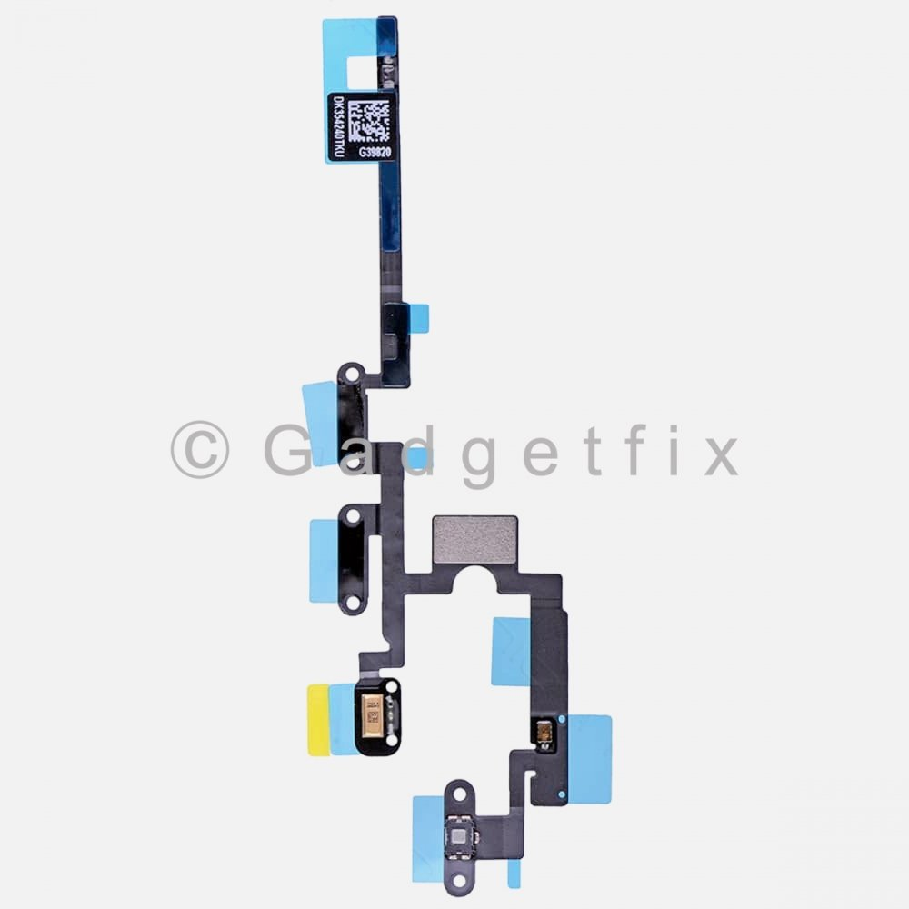 Microphone Power Volume Button Switch Connector Flex Cable For Ipad Pro 12.9