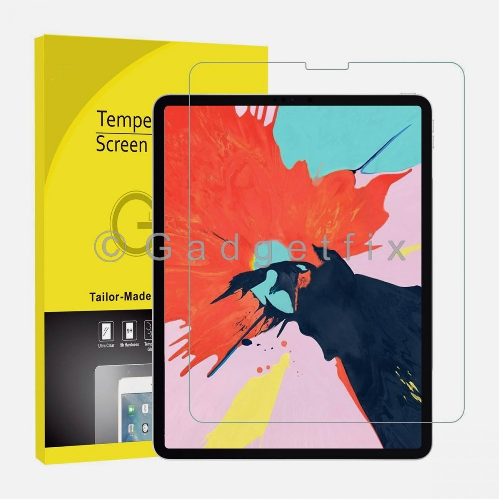 Ipad Pro 12.9 3rd Gen 2018 9H 0.33mm Premium Tempered Glass LCD Screen Protector Guard