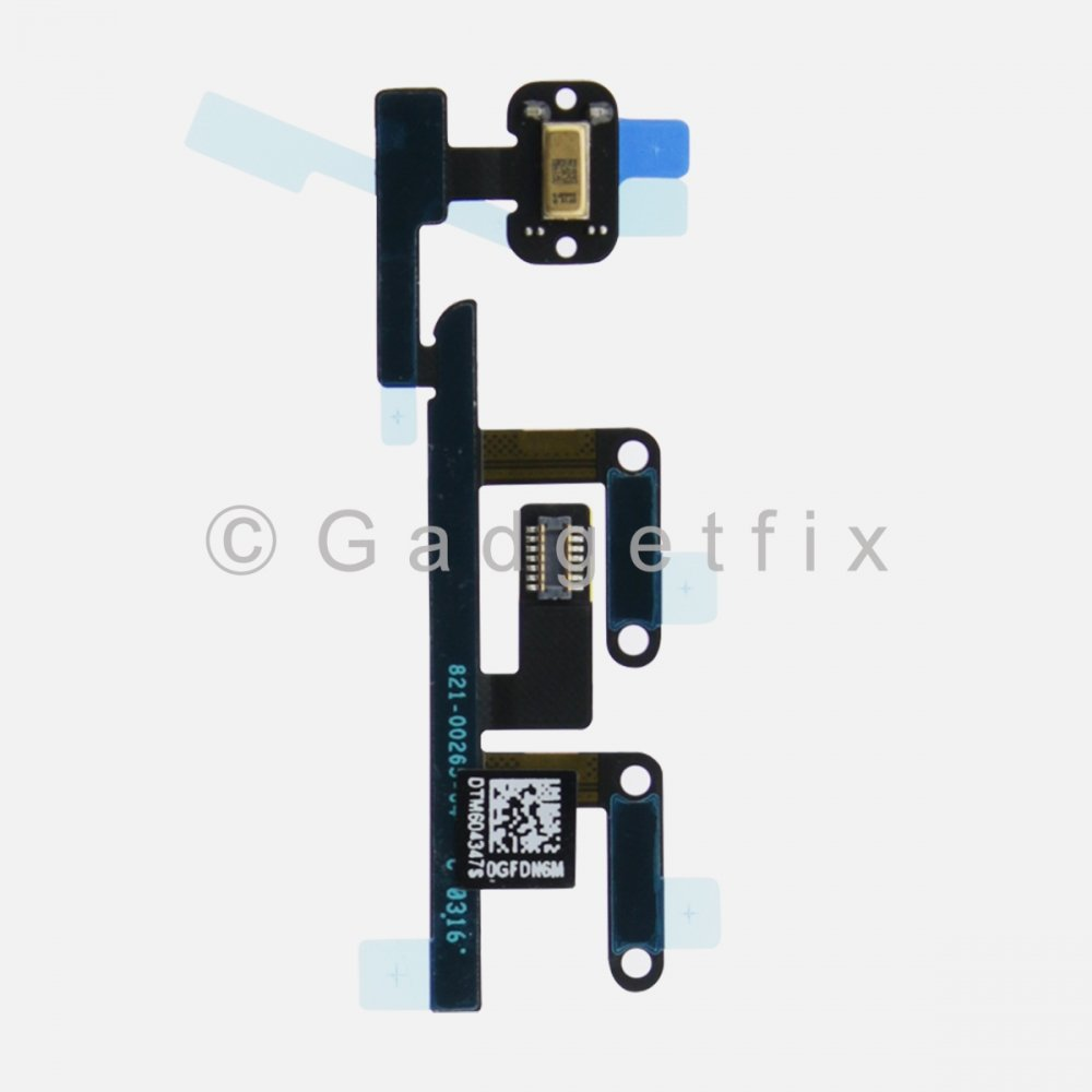 Volume Button Switch Connector Flex Cable For Ipad Pro 9.7