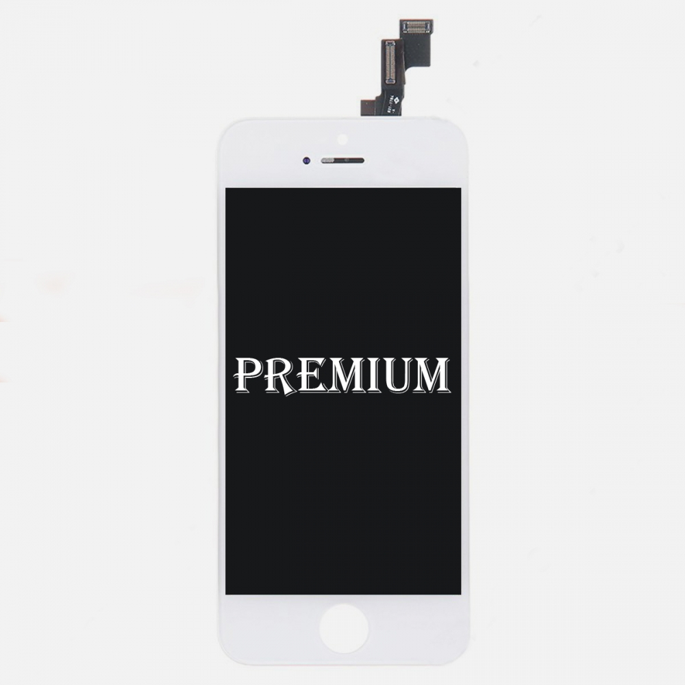(Premium Quality) LCD Display Touch Screen Digitizer For iPhone 5S White