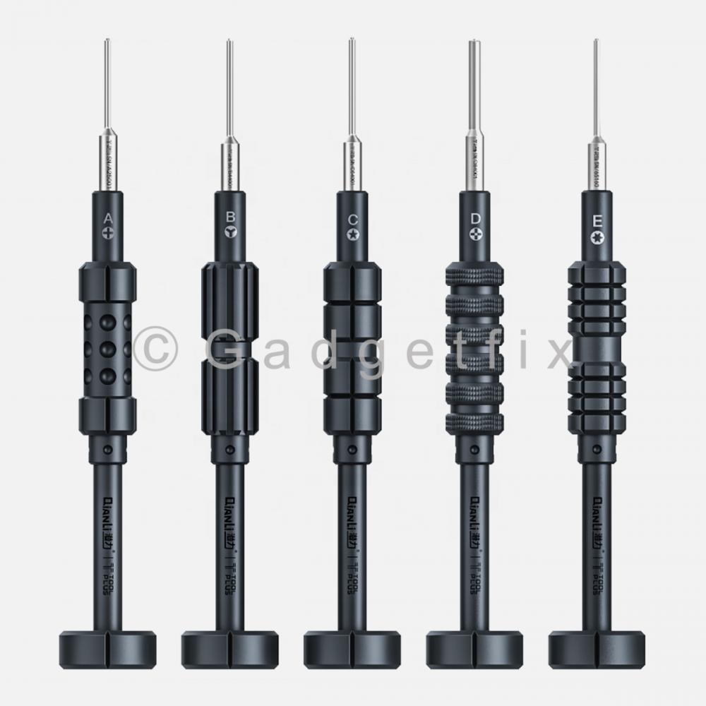 Complete Set of 5 QianLi ToolPlus iThor Screwdriver