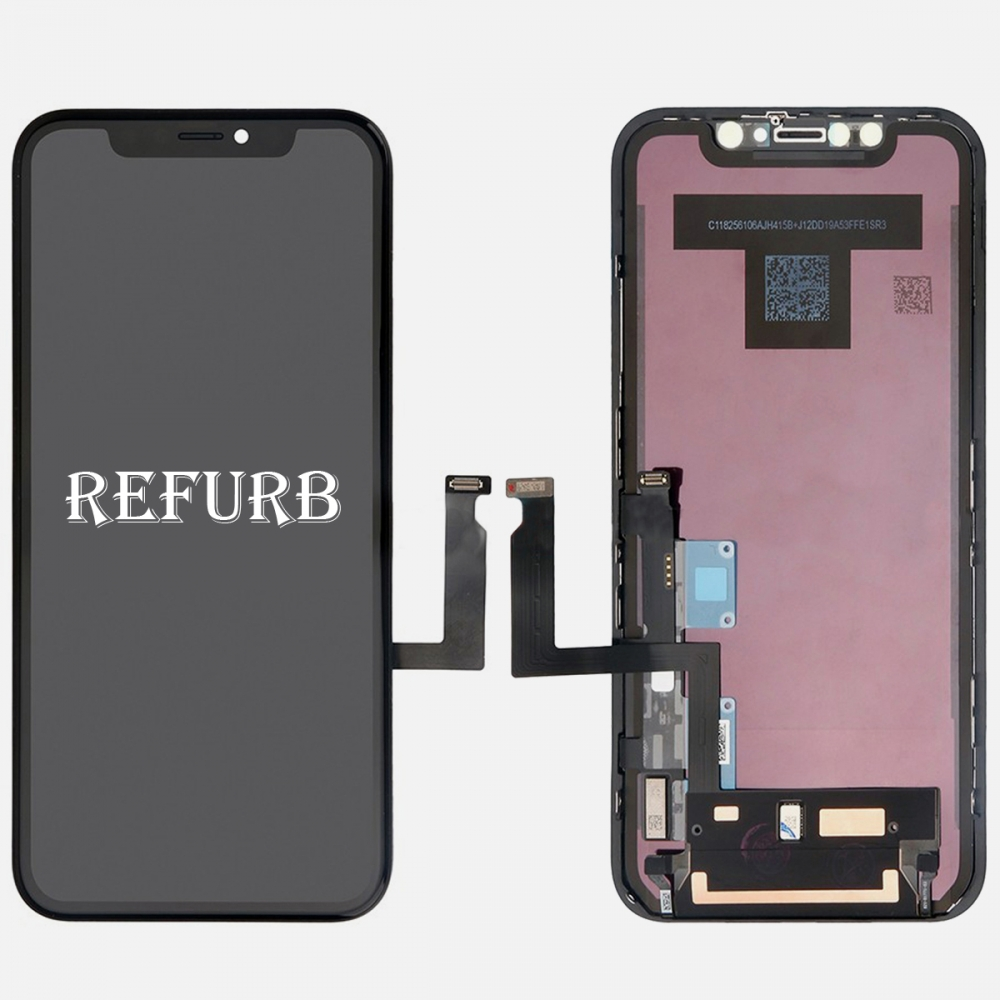 Refurbished LCD Display Touch Screen Digitizer Frame For Iphone XR