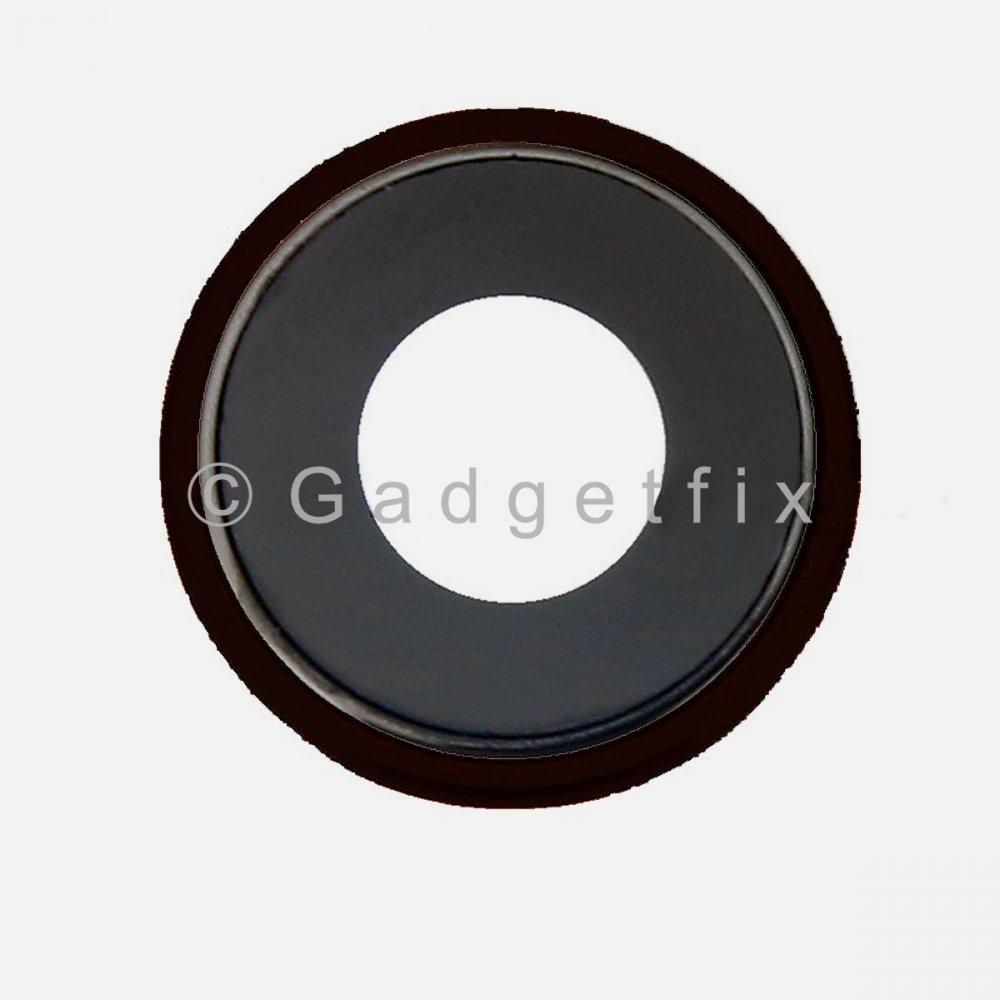 Black iPhone XR Rear Back Camera Lens with Bezel Frame