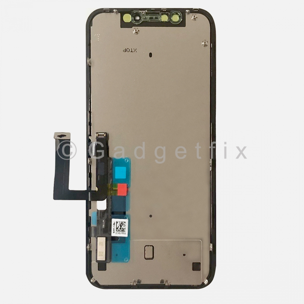 COF Display LCD Touch Digitizer Screen Frame + Back Plate for Iphone XR (Aplong)