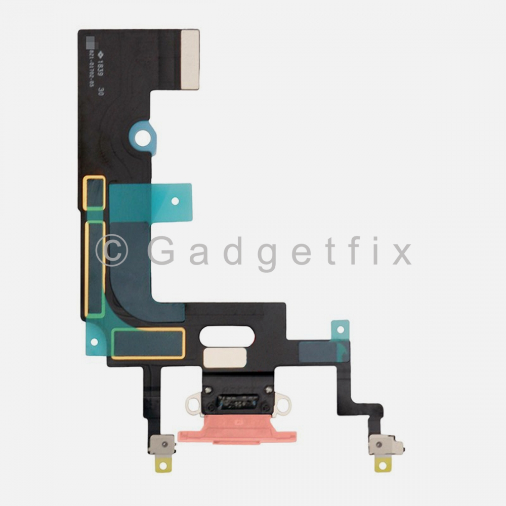 Coral Lightning Charger Charging Port Dock Connector Flex Cable For Iphone XR