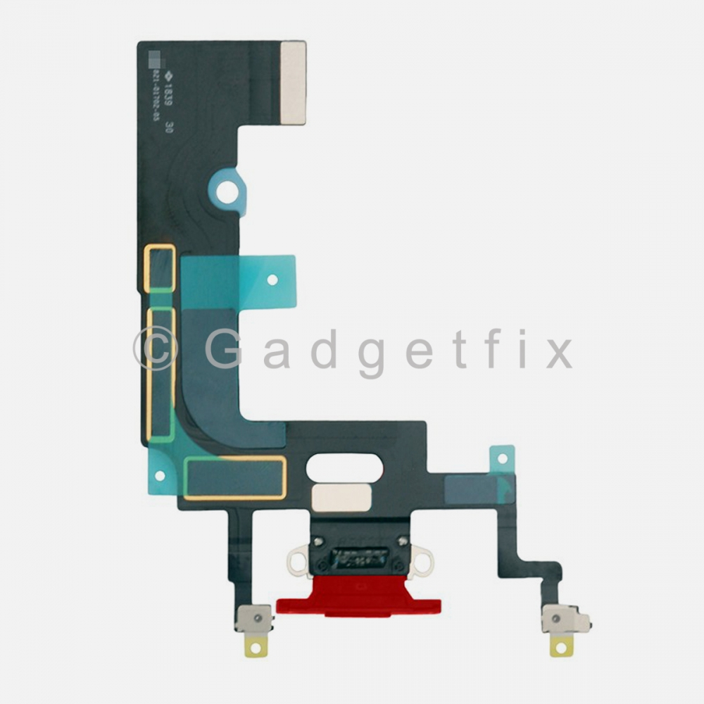 Red Lightning Charger Charging Port Dock Connector Flex Cable For Iphone XR