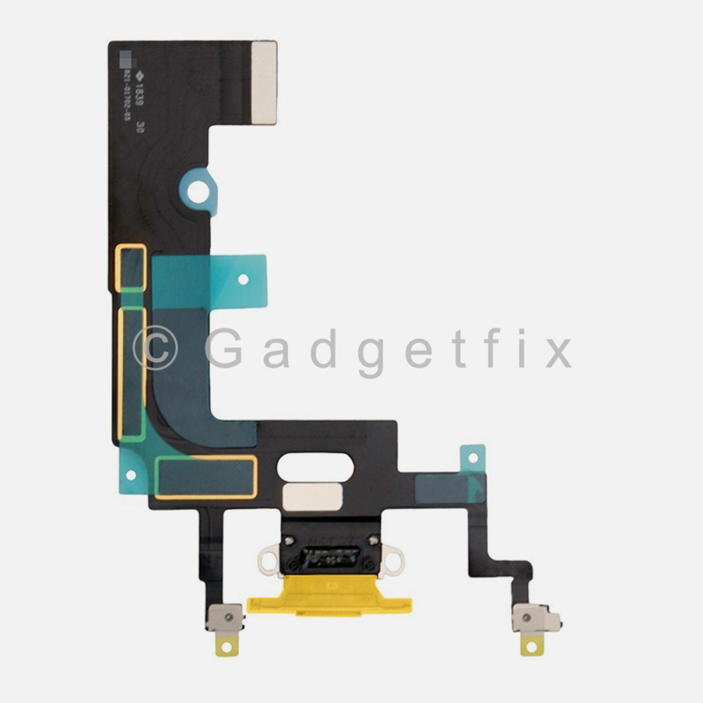 Yellow Lightning Charger Charging Port Dock Connector Flex Cable For Iphone XR