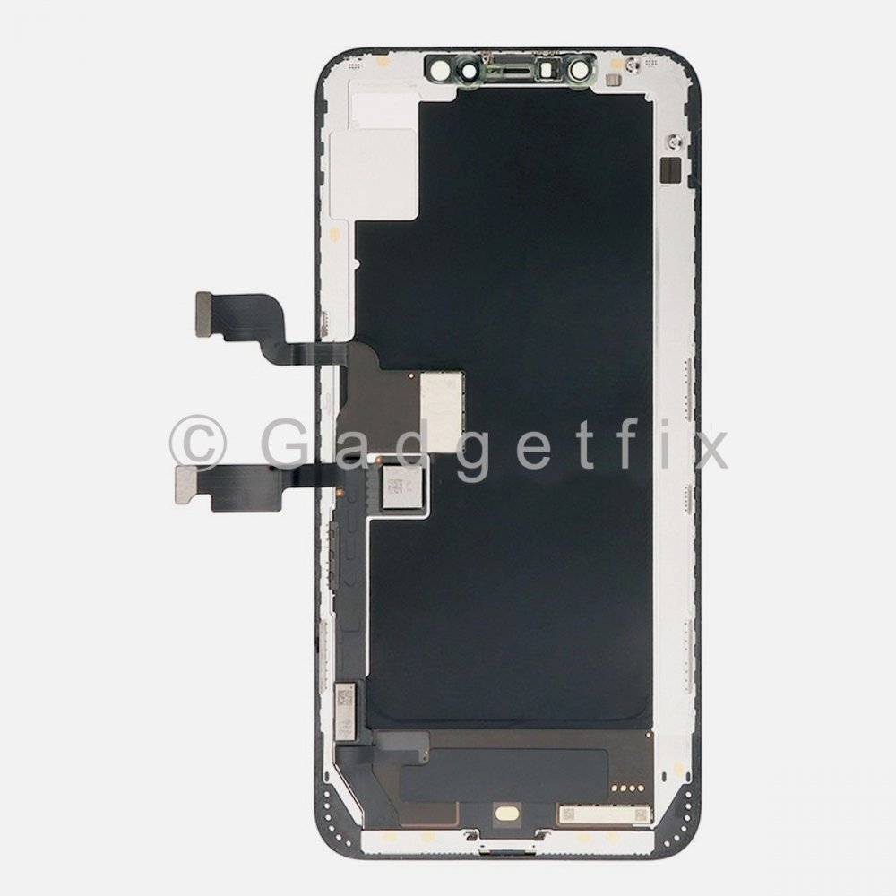 Hard OLED Display LCD Touch Digitizer Screen + Frame for Iphone XS Max (KQI Factory)