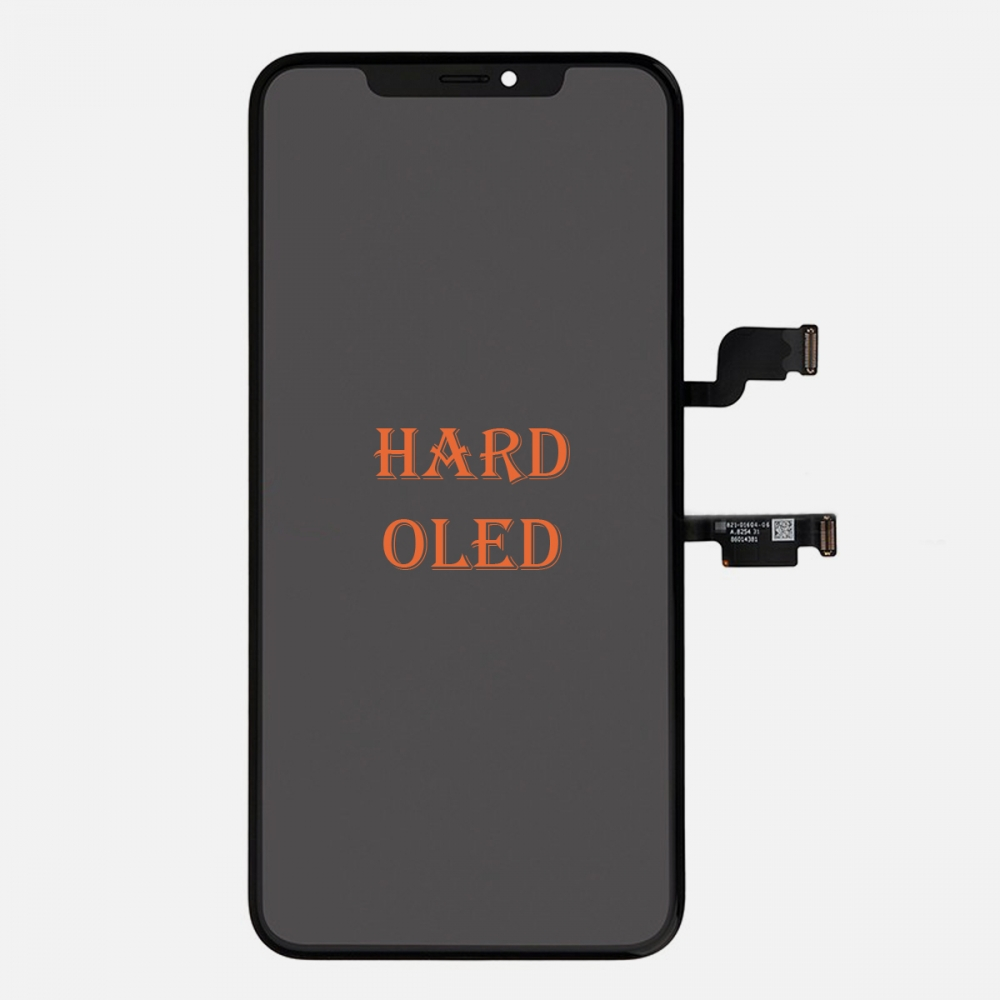 Hard OLED Display LCD Touch Digitizer Screen + Frame for Iphone XS Max (ZY Factory)