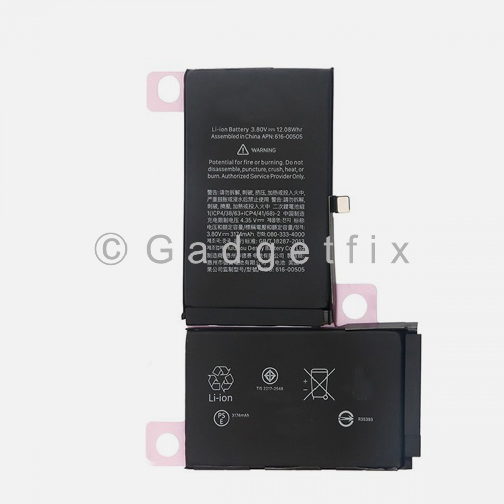 New 3174 mAh Battery Replacement For Iphone XS Max 616-00507