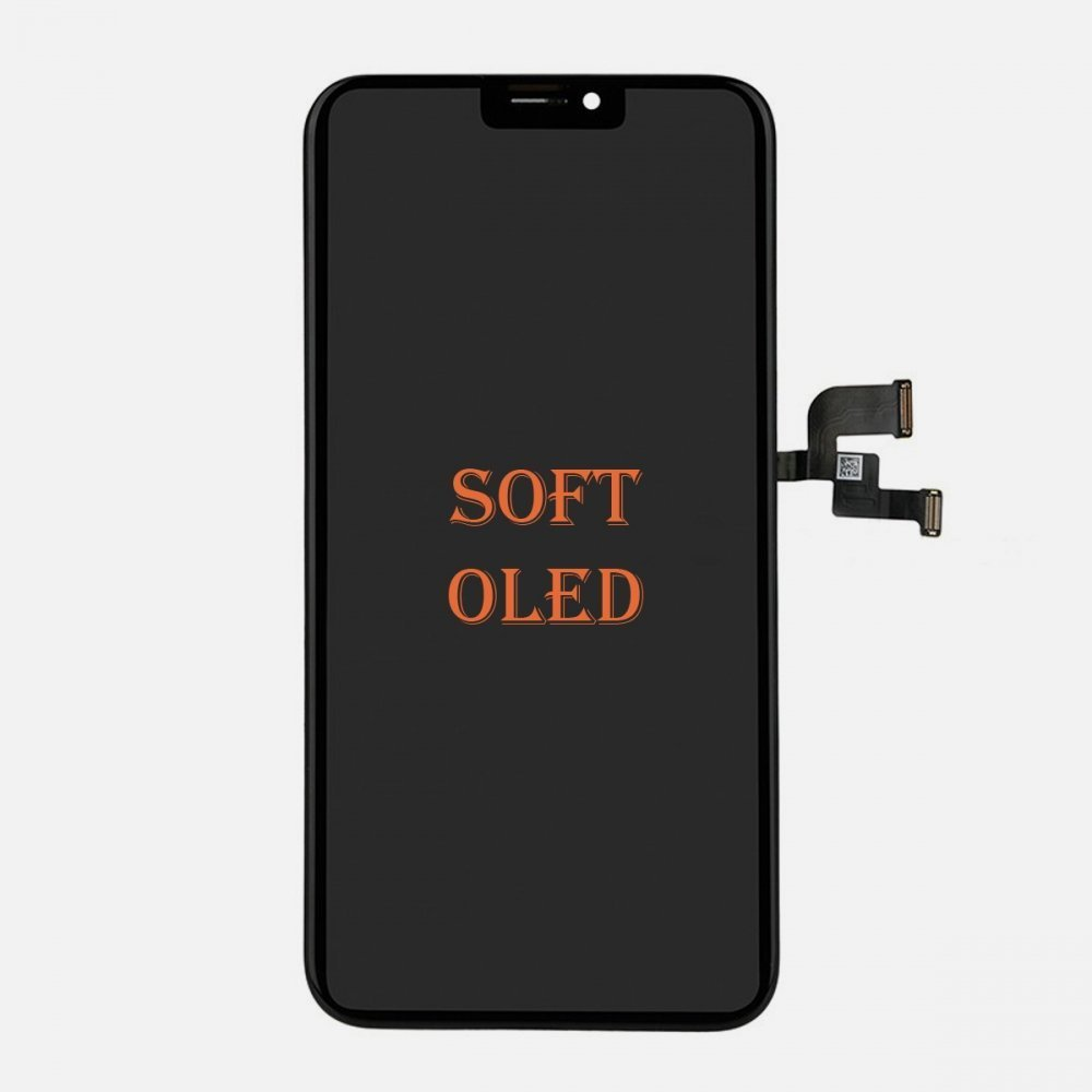Soft OLED Display LCD + Touch Screen Digitizer For iPhone XS (MX Factory)