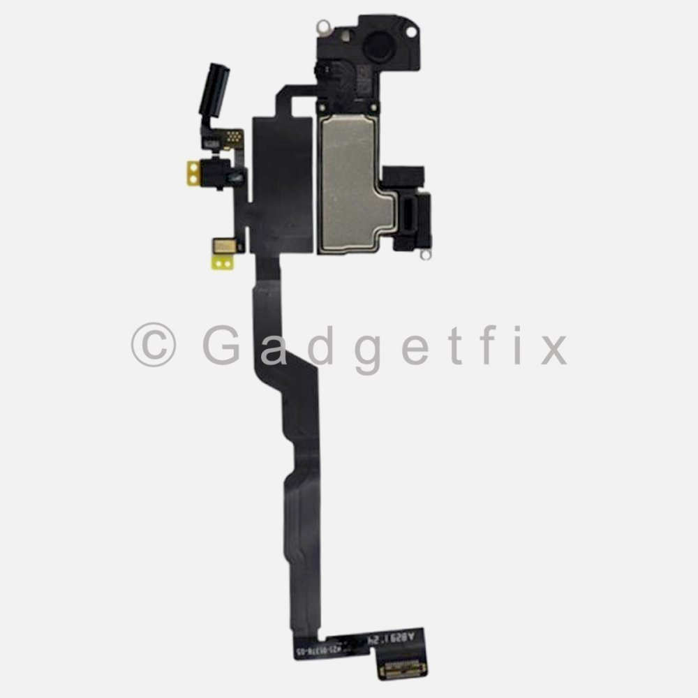Earpiece Ear Speaker + Proximity Light Sensor Flex Cable Ribbon Replacement For Iphone Xs
