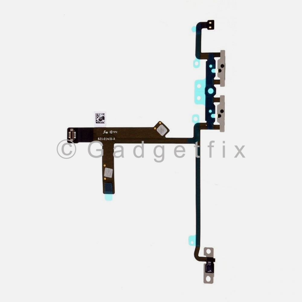 Volume Button Connector Flex Ribbon Cable For Iphone Xs