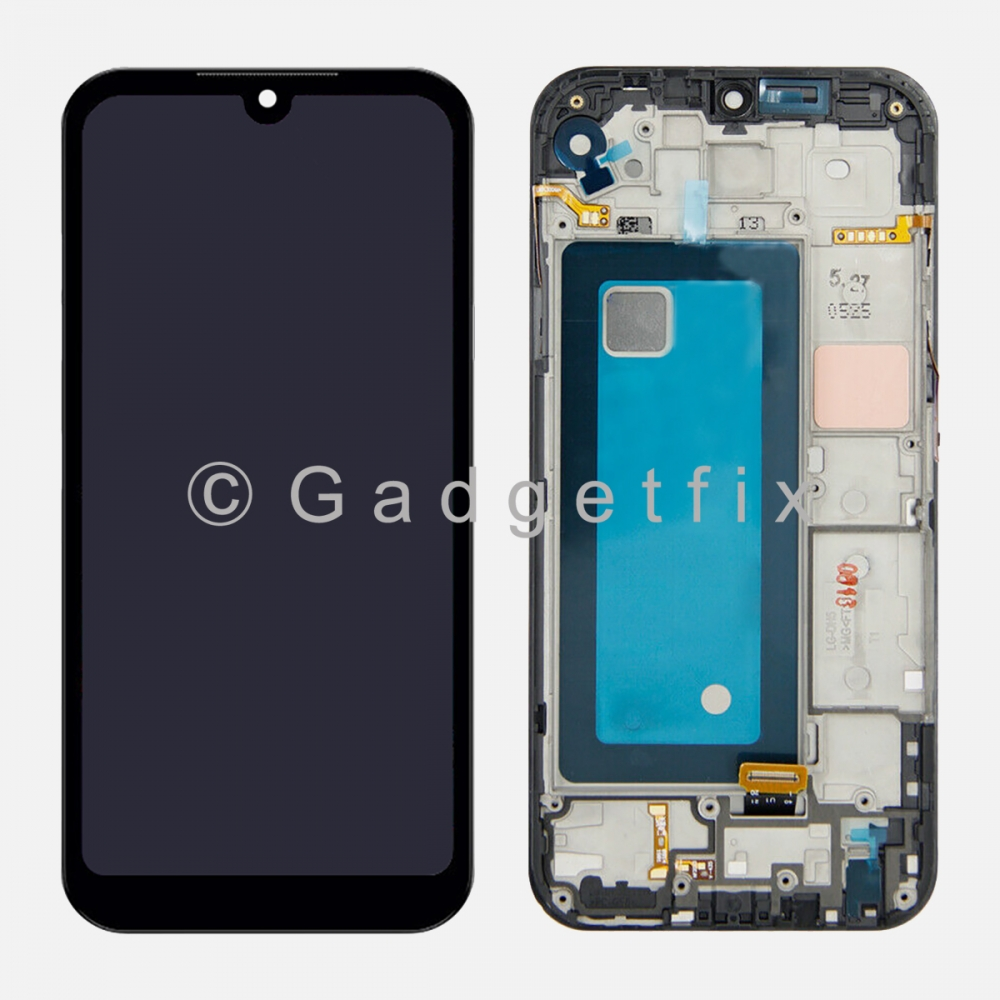 LG K31 2020   Aristo 5   K8X   Risio 4   Tribute Mornarch Display LCD Touch Screen Digitizer Frame