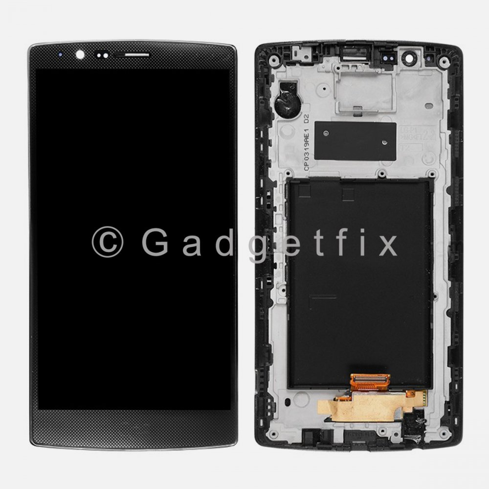 LCD Display Touch Screen Glass Digitizer + Frame For LG G4
