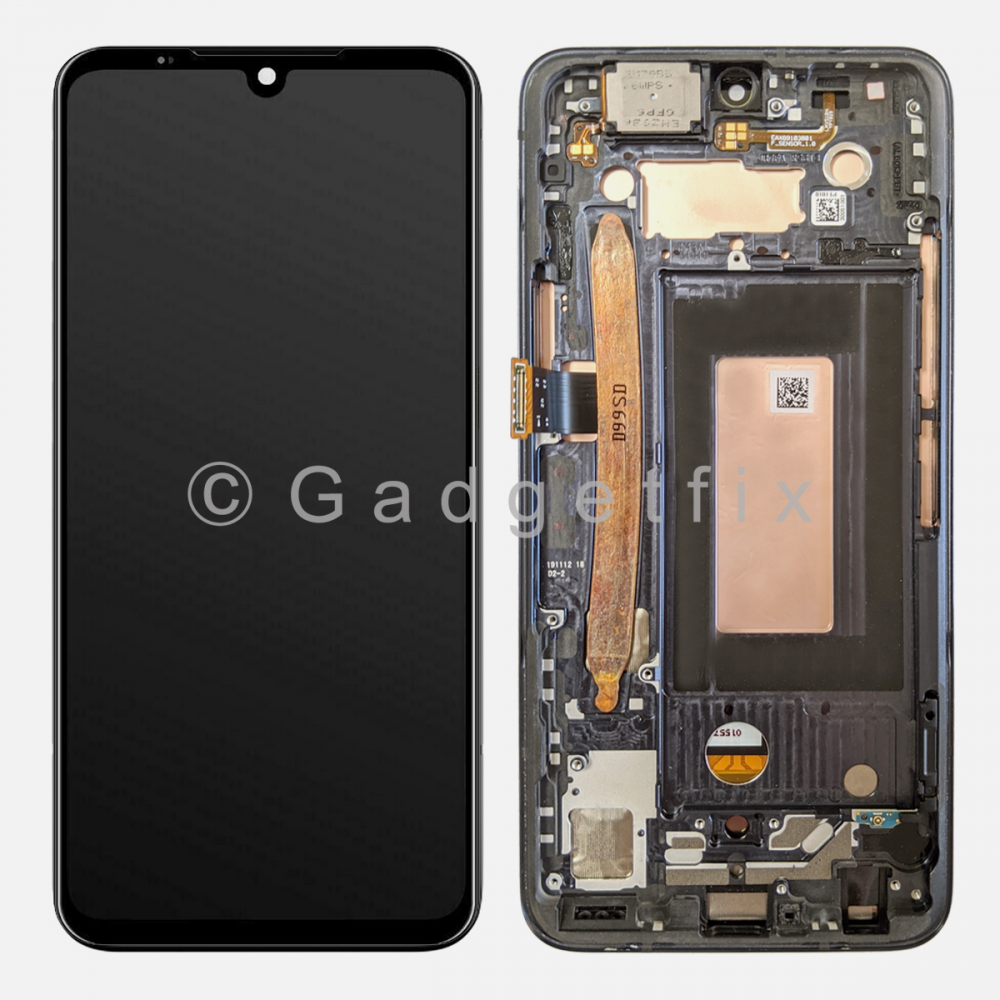 OLED Display LCD Touch Screen Digitizer + Frame For LG G8X ThinQ | LG V50S