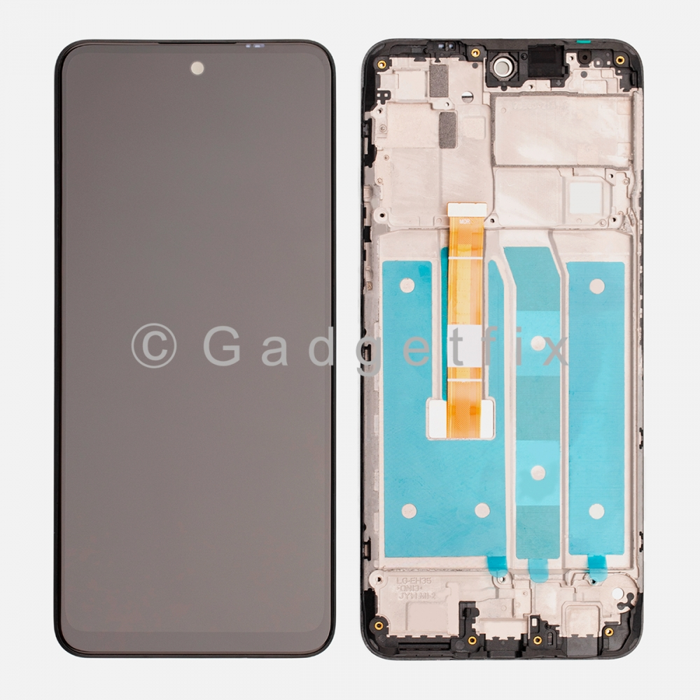 Display LCD Touch Screen Digitizer + Frame For LG K42 2020 K420