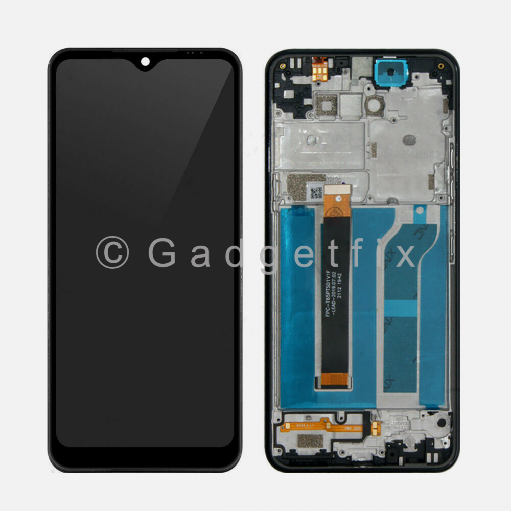 LG K51 LCD Display Screen Touch Digitizer + Frame