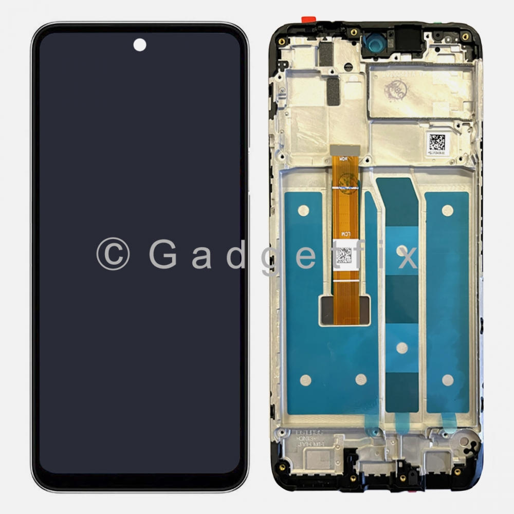 Display LCD Touch Screen Digitizer + Frame For LG K62 2020 (LMK525)