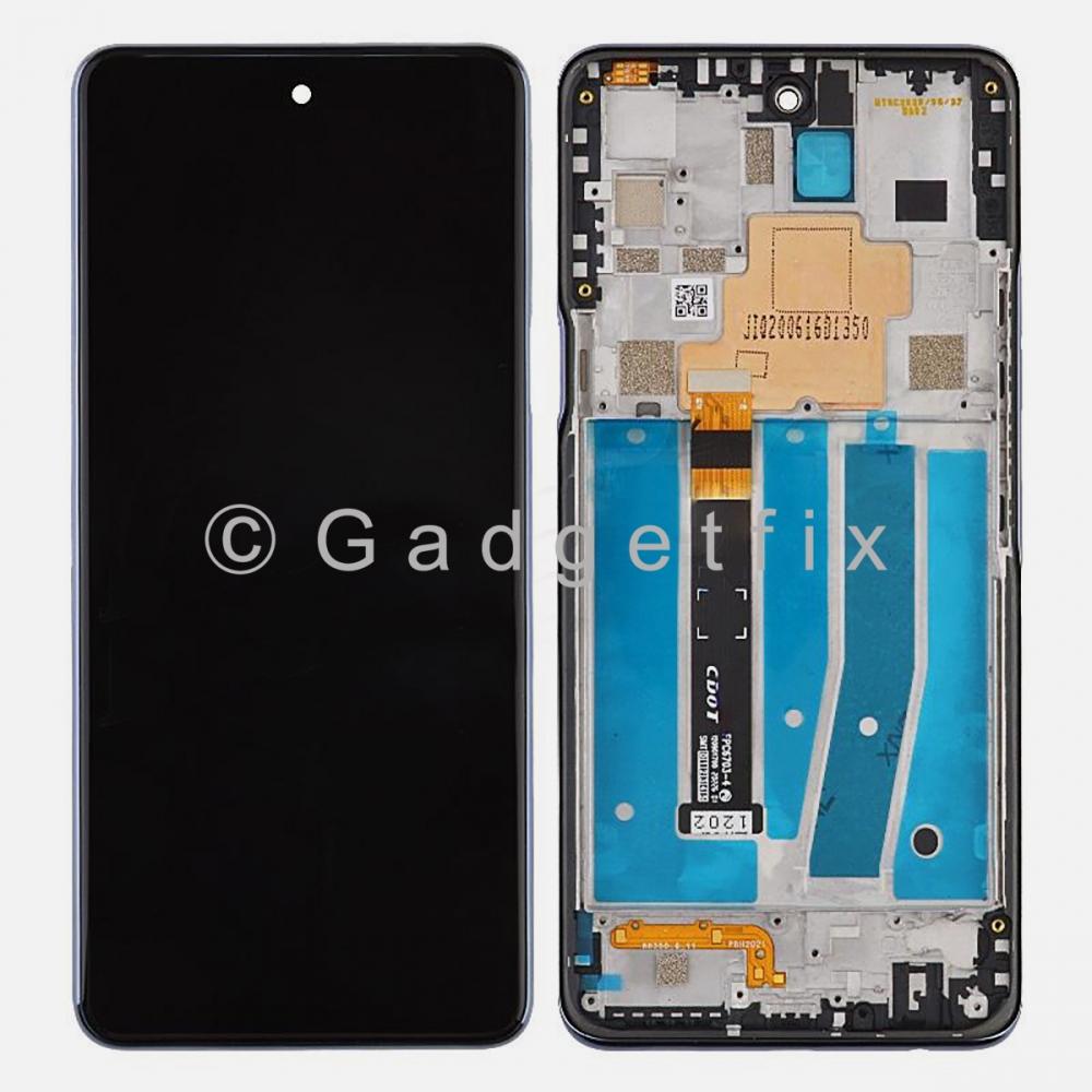 LG K92 5G LMK920TM LMK920AM LCD Touch Screen Digitizer + Frame