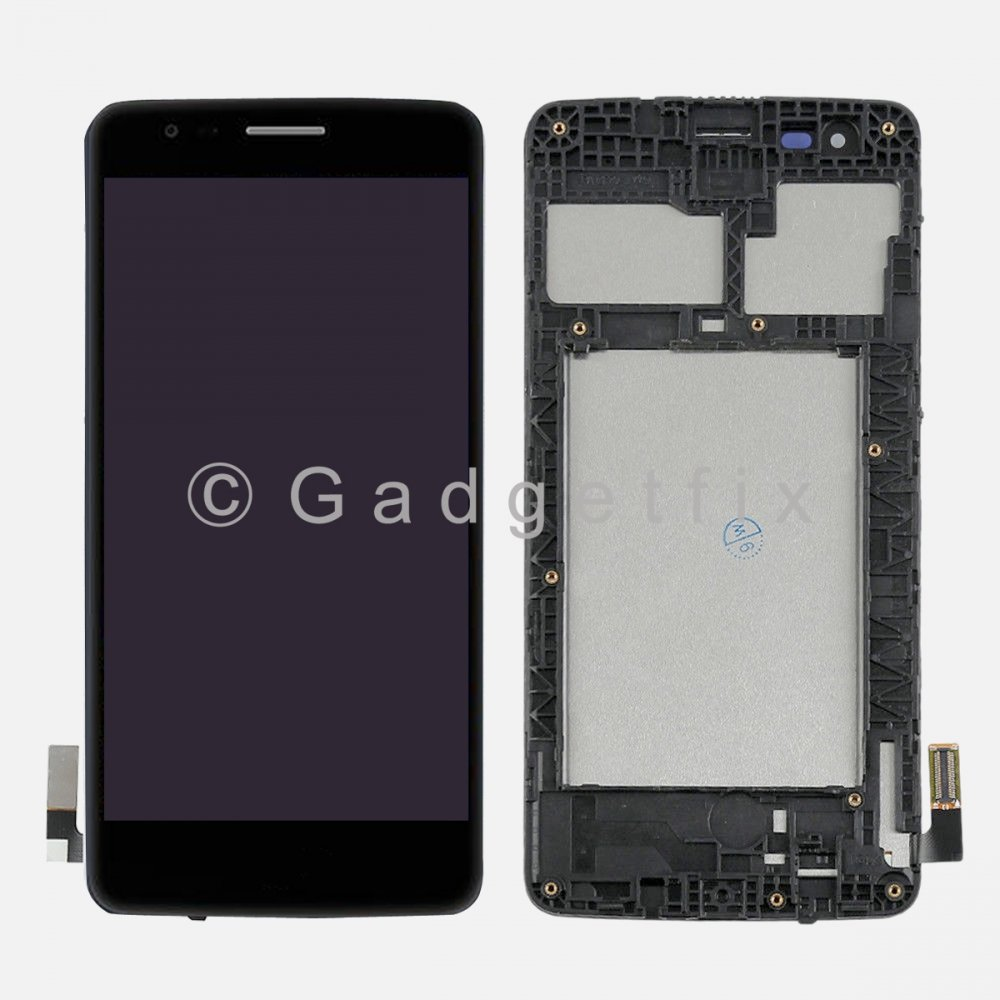 LG Aristo M210 MS210 LV3 K8 2017 Touch Screen Digitizer LCD Display + Frame